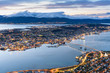 cityscape view of Tromso, Norway