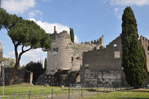 Rom, Grabmal der Cecilia Metella an der Via Appia antica
