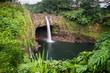 Die Rainbow Falls bei Hilo auf Big Island, Hawaii, USA. - 152101191