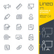 Lineo Editable Stroke - Office and Business outline icons.