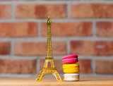 macaroons and souvenir