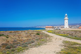 Old lighthouse in Pafos, Cyprus