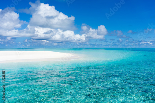 Tuinposter Tropical strand beautiful tropical beach