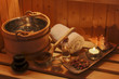 wellness and spa in the sauna - 152312567