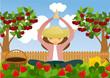 Pleasure of gardening and meditation hobby