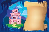 Parchment in fairy tale cave image 2