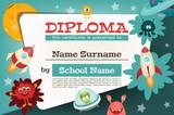 Certificate Kids Diploma - 152351939
