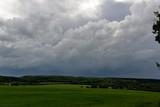 Paysage ciel d'orage