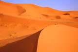 Beautiful desert in sahara
