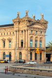 Aduana, Old Customs House, Port Vell, Barcelona, Catalonia, Spain