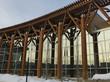 Building exterior in Prince George, British Columbia, Canada
