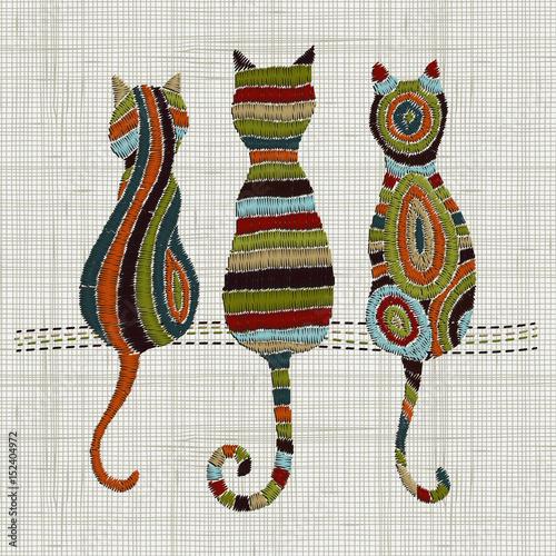 haftowane-koty-styl-zentangle-wektor-hafty-wystroj-domu-ozdoba-do-tkanin-moda-wzor-tkaniny