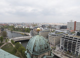 panoramic view from Cathedral of Berlin, Germany