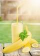 Banana on desk. - 152412926