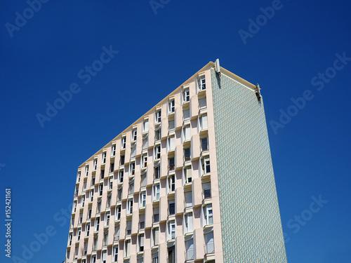 Póster schema geometrico facciata palazzo