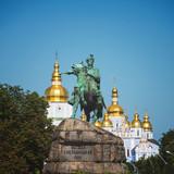 the monument of Bohdan Khmelnytsky in Kyiv
