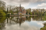 Reflections in Lover's Lake, Bruges, Belgium