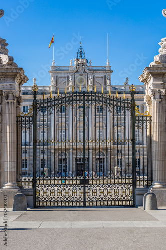 Palacio Real - Spanish Royal palace in Madrid Poster