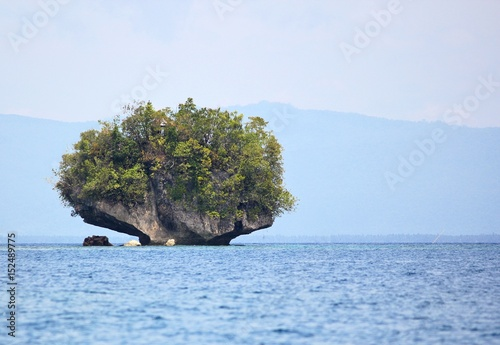 Small rock island, Surigao del Sur, Philippines A small rock island is Cantilan, Surigao del Sur always attracts the attention of locals and tourists.