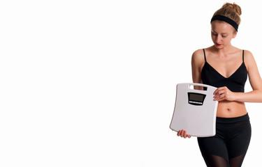 Slim and sporty female body, successful weight loss © Dmytro Flisak