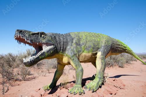 Poster Triassic Fasolasuchus Dinosaur Replica - Argentina