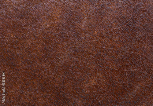 Fototapeta Vintage brown leather texture for background