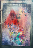 Graffiti,sketches and spry art,murals background - 152550597