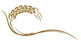 Logo of wheat.  - 152563786