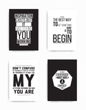 Set posters quote