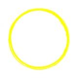 Gelber gemalter isolierter Kreis - 152661175