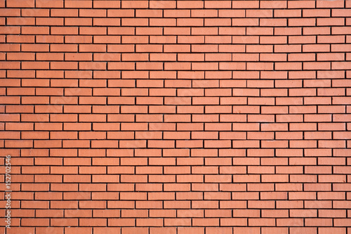 Papiers peints Brick wall Modern new large red brick wall background