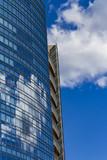 Modern building in Milan, Italy