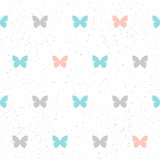 Handmade seamless pattern background.