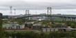 Bridge connecting Dartmouth and Halifax, Nova Scotia, Canada