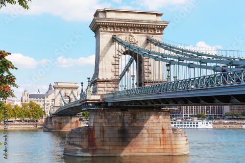 Papiers peints Budapest Budapest. Hungary. Chain bridge