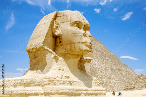 The Great Sphinx of Giza. Egypt