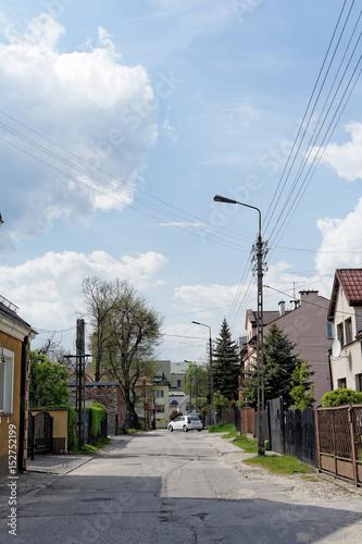 ulica w małym mieście