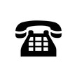 Phone web icon vector