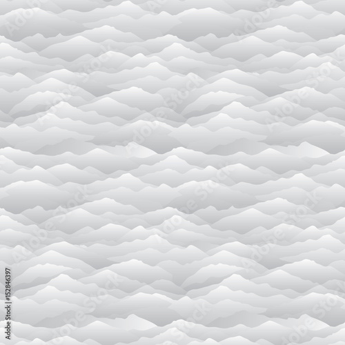 Fototapeta Abstract wave seamless pattern. Mountain skyline background.