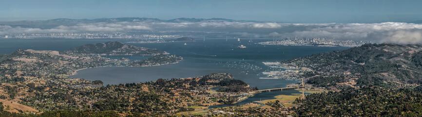 Bay Area Panorama from Mount Tamalpais