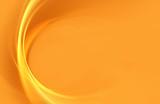 Abstract fractal orange background