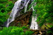 waterfall in the rain forest, Thailand - 152929586