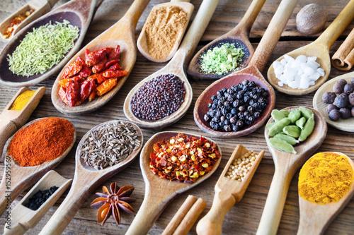 Fototapety, obrazy : Gewürze - Spices
