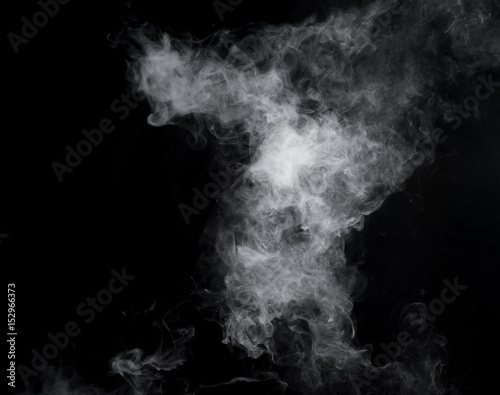 Photo of e-cigarette's smoke