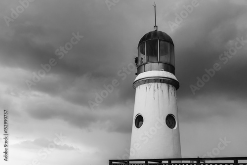 Lighthouse standing tall