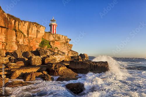 Lighthouse South Head Hor Surf