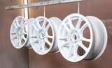 Process of powder coating auto wheels - 153090559