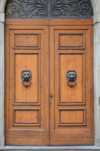 Doors of Florence, Italy Poster