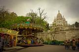 carousel in the Basilica of Saint Pierre in Montmartre, Paris