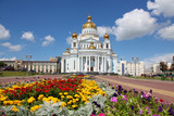 Russia. Mordovia. Saransk. The Cathedral of St Warrior Fedor Ushakov - 153165981